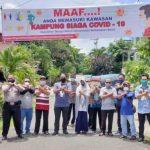 Kampung Siaga Covid-19, Warga Harus Pakai Masker. Tamu Wajib Lapor di RT dan Dicek Kesehatannya