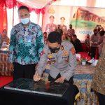 Kapolda Kaltim Percaya PT Borneo 86 Bangun Perumahan. Sebanyak 350 Unit Rumah Polisi di BBP
